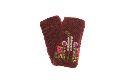 F20-824WHW-WINE Meadow Hand Warmer Wine