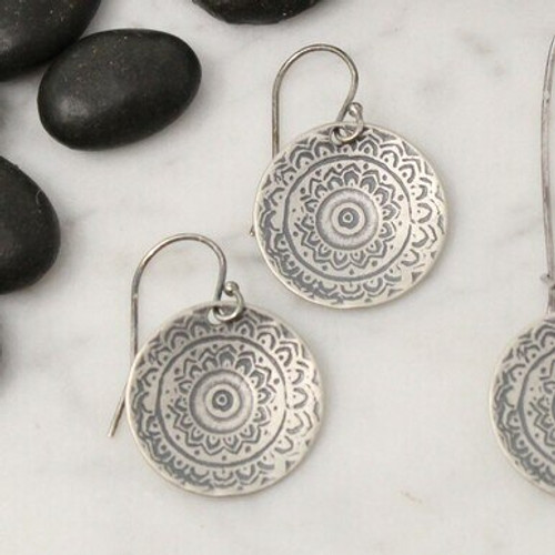 10092-S Tapestry Earrings