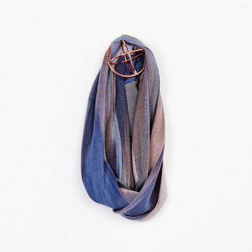 AS33DD Org Bamboo Infinity Scarf