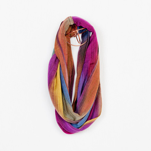 AS33PM Org Bamboo Infinity Scarf