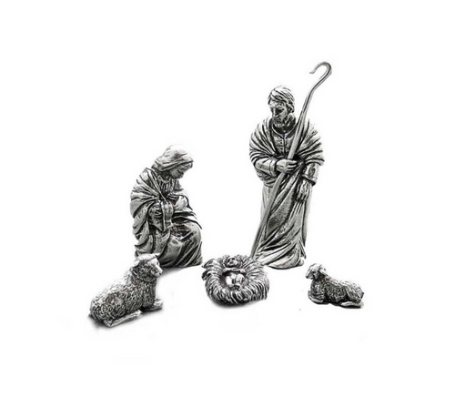 550 Holy family nativity set