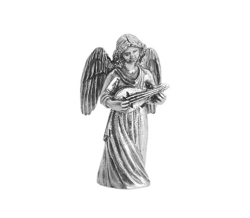 574 Angel with Lute