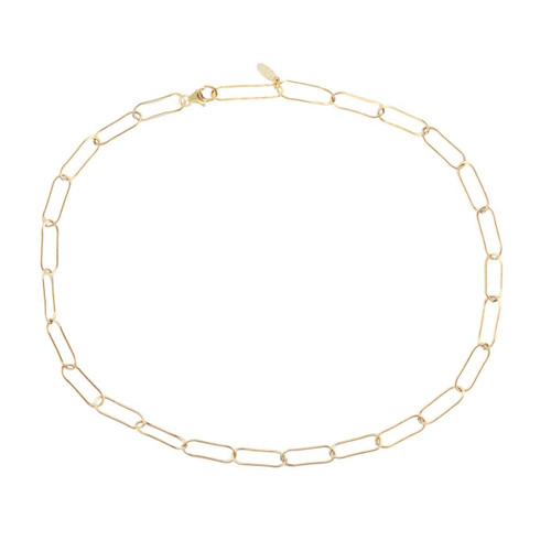 Large Link Chain Necklace- Gold Filled