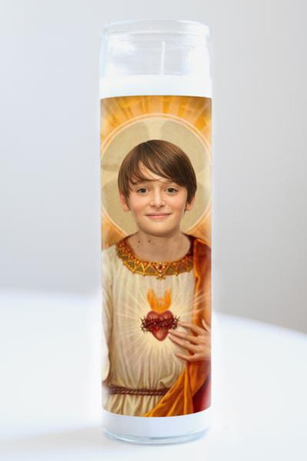 Noah Schnapp Celebrity Prayer Candle