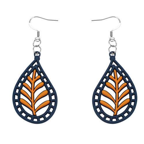 Bohemia earrings, blue