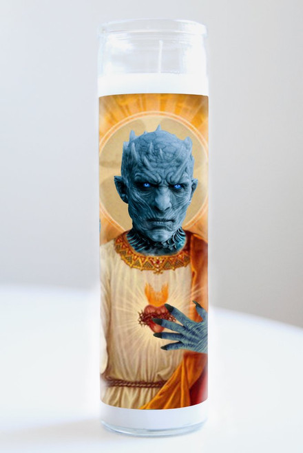 The Night King Celebrity Prayer Candle