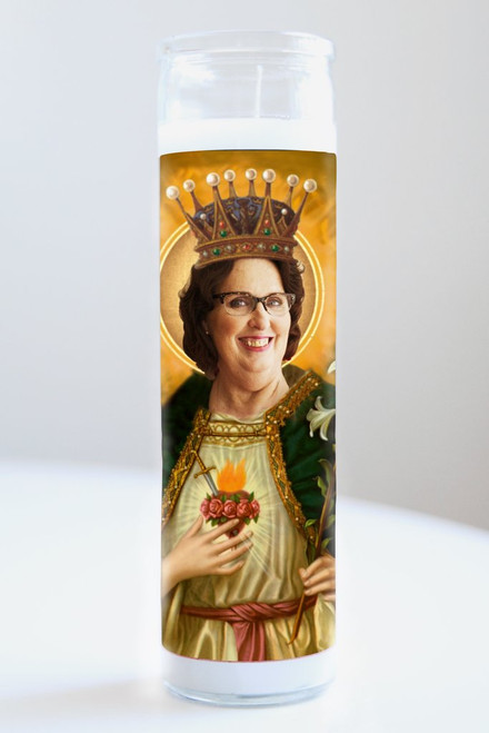 Phyllis Vance (The Office) Celebrity Prayer Candle