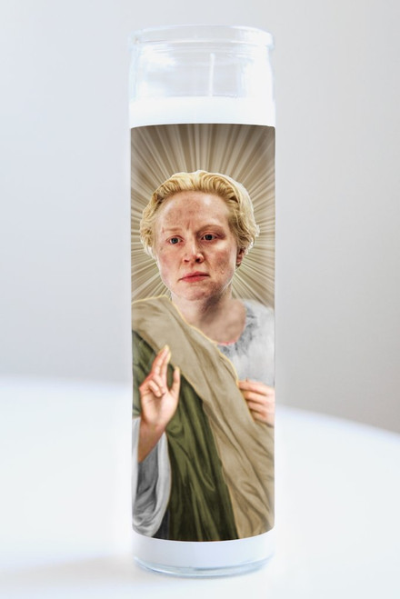 Brienne of Tarth (Game of Thrones) Celebrity Prayer Candle