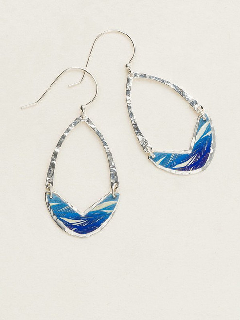 10244 Denim Erika Earrings