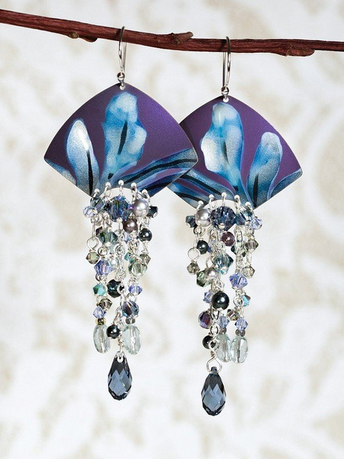 96232 Blue Desert Spring Earrings