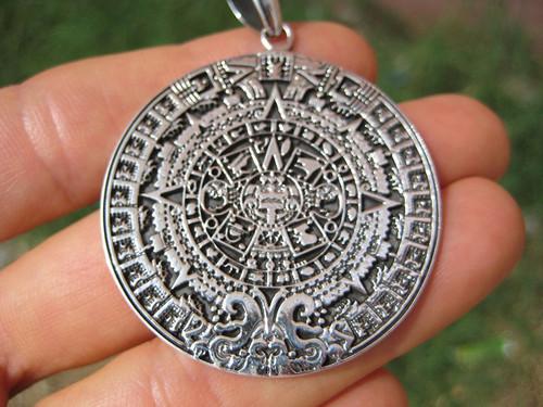 Image 2 Mayan Calendar Pendant