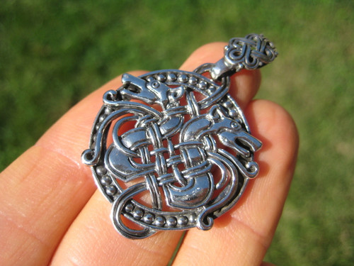 Photo 1 925 Silver Dragon Pendant