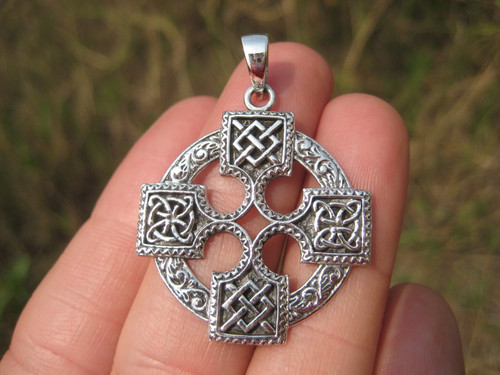 Silver Celtic Cross Photo 1