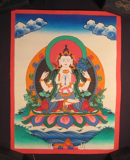 Image 1 Nepal Thangka Painting