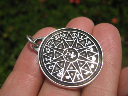 925 Silver King Solomon First Temple Jerusalem Pendant Necklace A12