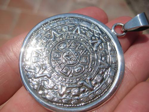 925 Silver Maya Pendant A165