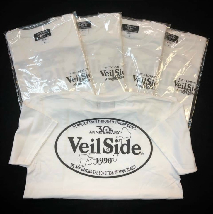 VeilSide 30th Anniversary T-Shirt White Large