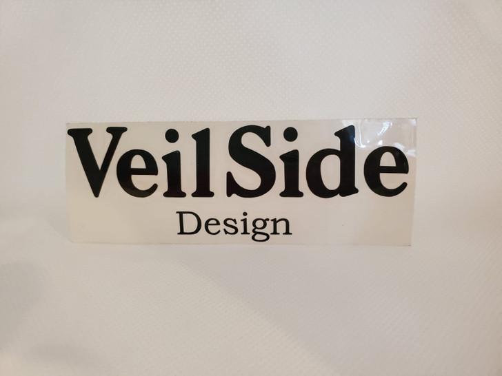 ST010-05 VeilSide Design Sticker Vinyl Black Authentic Original Japan