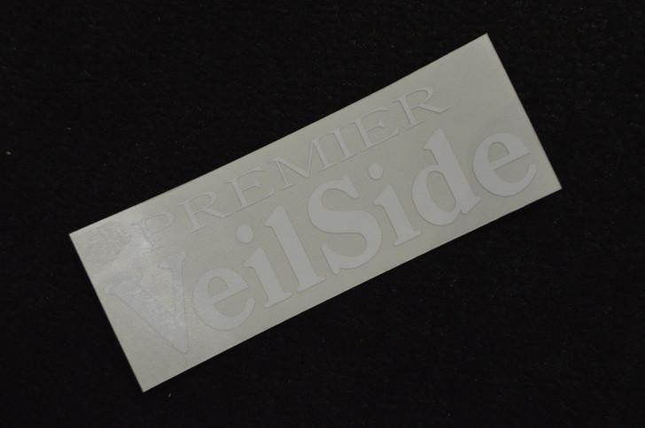 ST011-01 VeilSide Premier Sticker Vinyl White Authentic Original Japan
