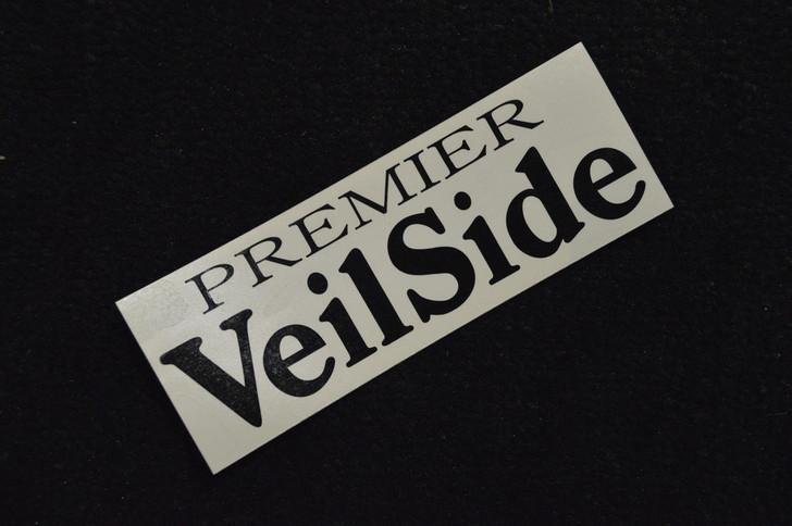 ST011-05 VeilSide Premier Sticker Vinyl Black Authentic Original Japan