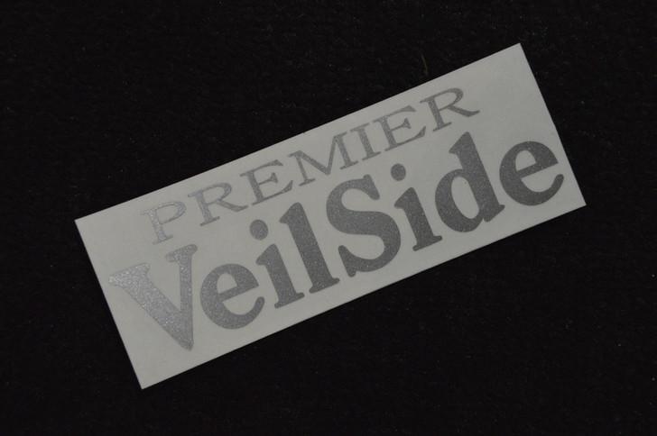 ST011-06 VeilSide Premier Sticker Vinyl Silver Authentic Original Japan