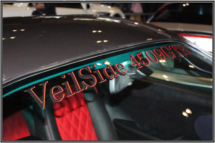 ST017-03 VeilSide 4509GTR Front Window Sticker Authentic Original