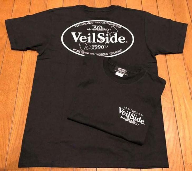 VeilSide 30th Anniversary T-Shirt Black Small