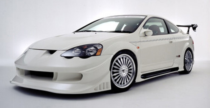 AE064 VeilSide 2002-2004 Acura RSX DC5 Racing Edition Complete Kit With Fenders