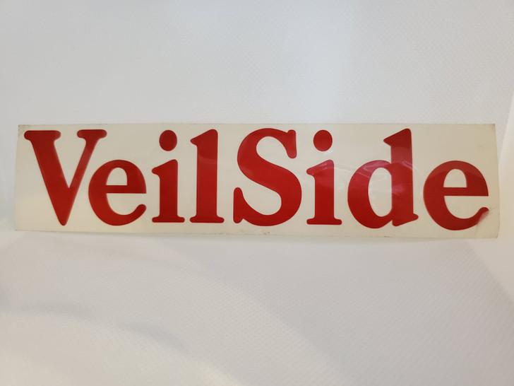 ST002-03 VeilSide Vinyl Sticker Medium Red Racing authentic original japan