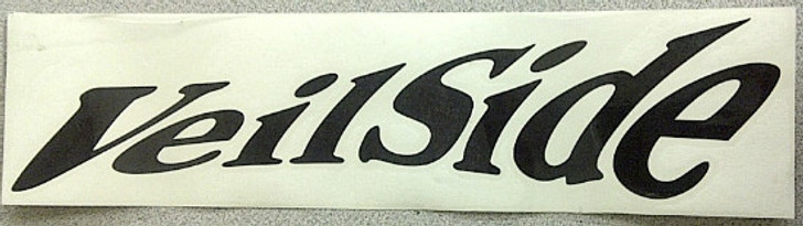 ST020-05 VeilSide Twisty Sticker Large Black Vinyl Authentic Original Japan