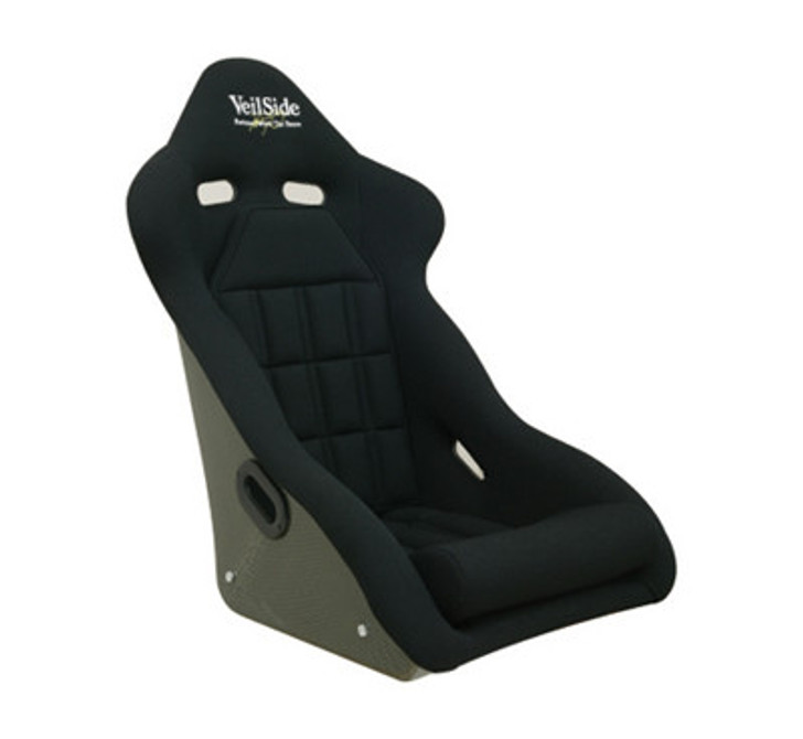 VeilSide D-1R FRP Bucket Racing Seat ALL Black