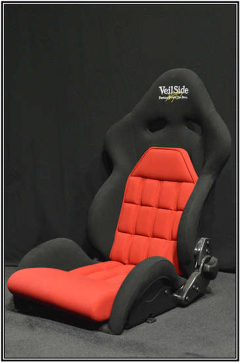 VeilSide VS D-1R FRP Reclining Seat ALL Red