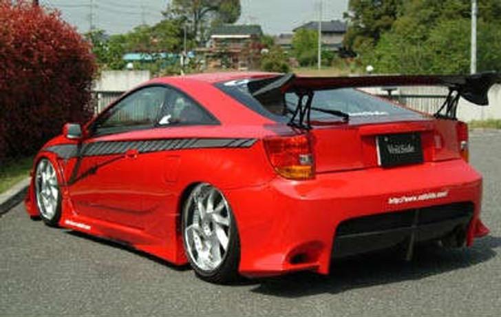 AE077-07C VeilSide 2000-2005 Toyota Celica ZZT231 VS FF-GT Carbon Rear Wing