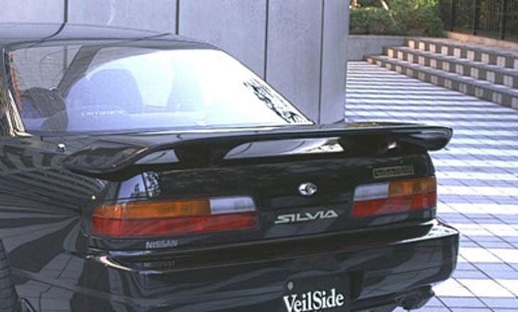 AE027-04 VeilSide 1989 1990 1991 1992 1993 1994 Nissan S13 JDM Silvia Coupe Convertible E-I Model Rear wing front side skirts rear lip hood Coupe convertible zenki kouki chuki sr20det