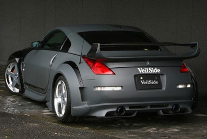 AE070-04 VeilSide 2003-2008 Nissan 350Z Fairlady Z Z33 Coupe Ver. III FRP Rear Wing