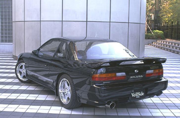 AE027-02 VeilSide 1989 1990 1991 1992 1993 1994 Nissan S13 JDM Silvia SIL80 E-I Model Side Skirts rear wing lip hood Coupe hb zenki kouki chuki sr20det