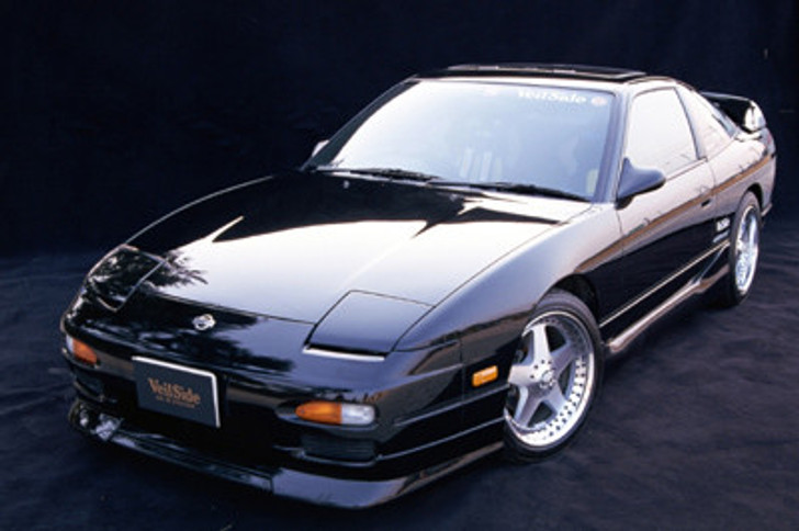 AE029 VeilSide 1989 1990 1991 1992 1993 1994 Nissan 240SX 180SX RPS13 E-II Model Complete Kit front bumper side skirts rear wing lip hood Coupe hb zenki kouki chuki sr20det