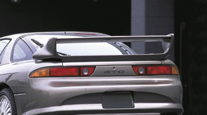 AE037-07 Veilside 1991-1998 3000GT/ Dodge Stealth GTO Z15/16A EC-I FRP Rear Wing With Carbon Top Planar