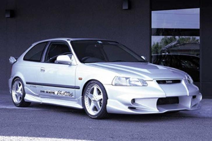 AE039-01 VeilSide 1996-1998 Honda Civic All Models EK4 EC-I Model Front Bumper