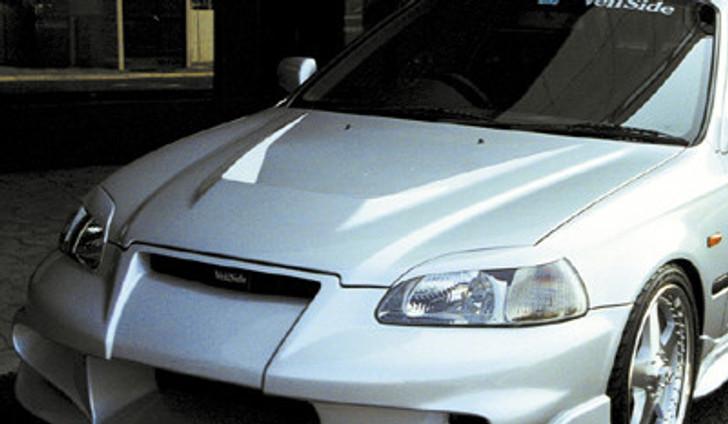 AE039-05 VeilSide 1996-1998 Honda Civic All Models EK4 EC-I Model FRP vented Hood