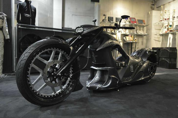 VeilSide 4509Python Customs Chopper Handbuilt Motorcycle