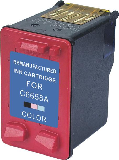 Premium HP C6658AN. HP 58 Compatible Photo Color Ink Cartridge