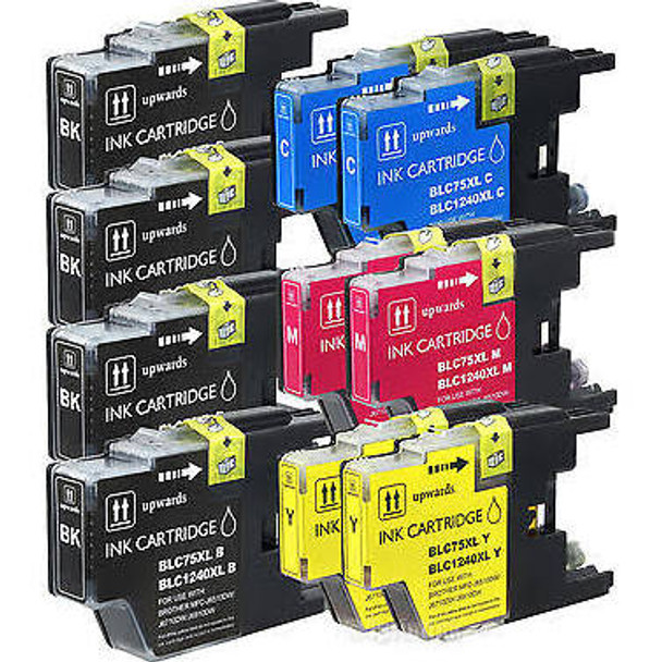 Premium LC-79 Set Compatible Brother Inkjet Cartridge (10-Pack) Extra High Yield