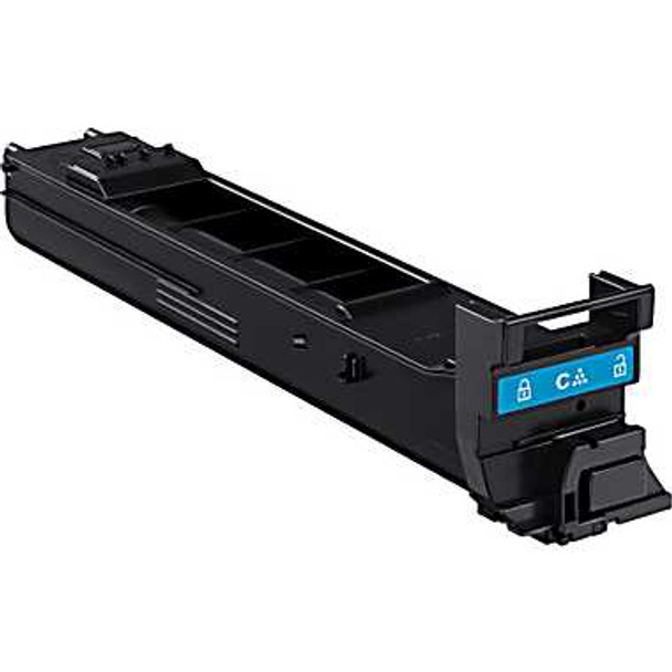 Premium Konica-Minolta A0DK432 Remanufactured Cyan Toner Cartridge