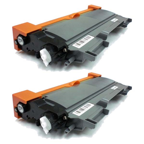 Premium Replacement Black High Yield Laser Cartridges Compatible with Brother TN450 (2PK)