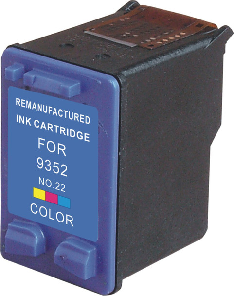 Premium HP C9352AN (HP 22XL) Compatible Color Ink Cartridge