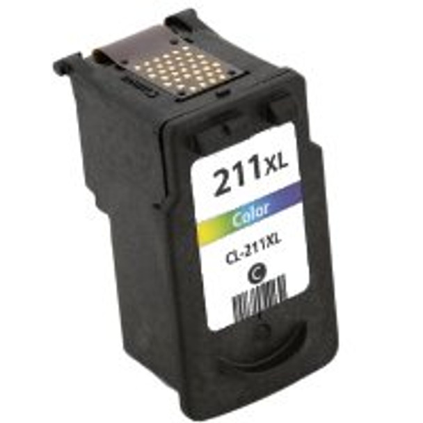 Premium Canon CL-211XL High Yield Color Ink Cartridge