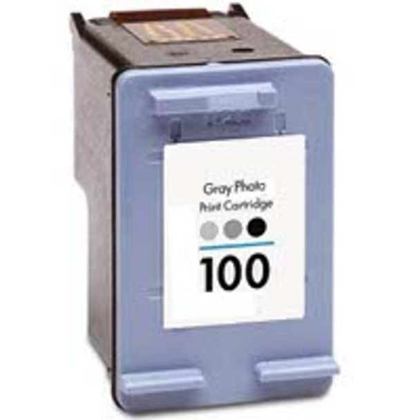 Premium HP C9368AN Compatible Gray Ink Cartridge (HP 100)