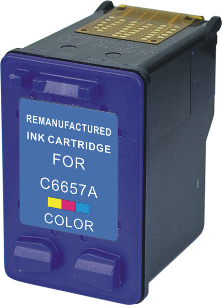 Premium HP C6657AN HP 57A Compatible Color Ink Cartridge