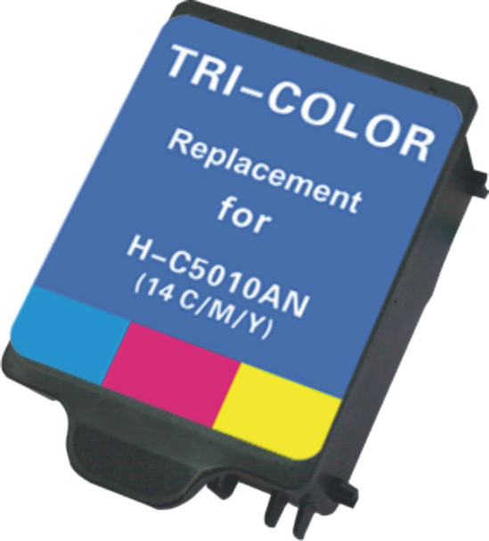 Premium HP C5010DN, #14 Compatible Color Ink Cartridge